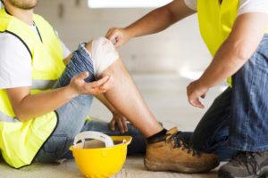 employee injured while working